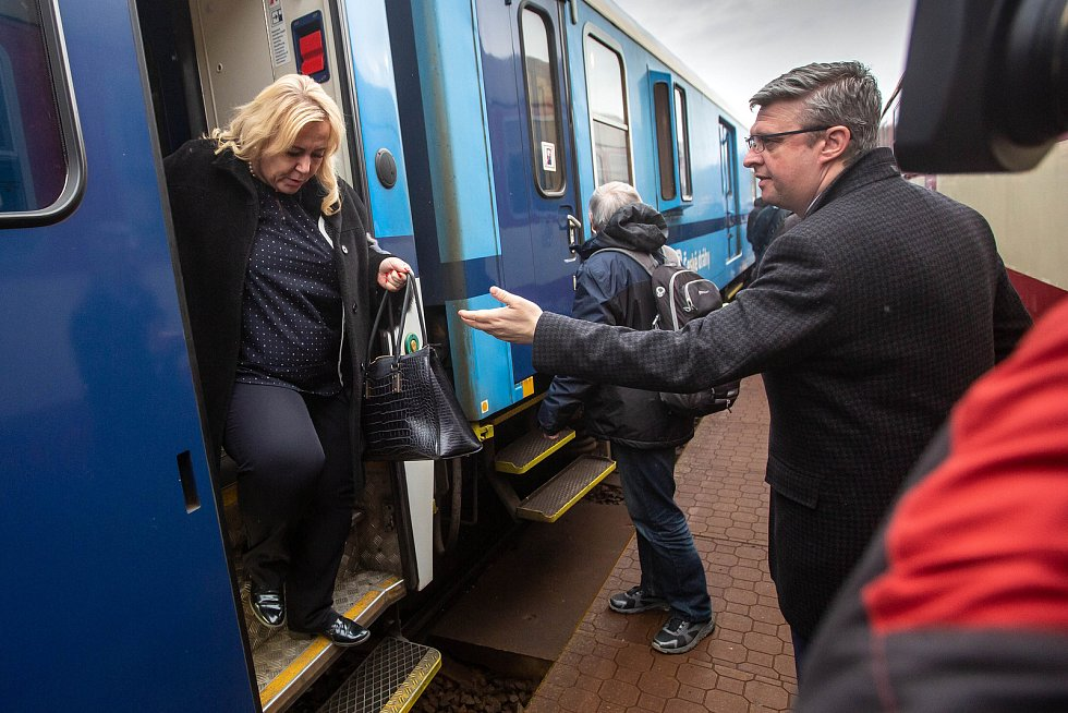 Premiér Andrej Babiš na návštěvě Královéhradeckého kraje.