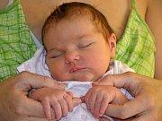 ROZÁLIE ČERVENKOVÁ je prvním miminkem maminky Natálie a tatínka Karla z Lipí u Náchoda. Holčička se narodila 26. srpna 2016 v 10.10 hodin, vážila 3285 gramů a měřila 48 centimetrů.