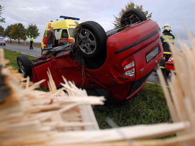 Nehoda u Bohuslavic.