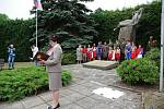 Na Bohdašíně a Končinách se konalo pietní setkání.