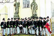 Ostrostřelecká garda Václava hraběte Radeckého z Police oslavila 20 let existence.