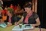 Helena Rezková, vydavatelka a starostka Sokolské župy Podkrkonošské-Jiráskovy. V roce 2009 založila vydavatelství a do současnosti vydala 35 knih. Sokol je další její velkou láskou.