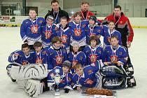 Mladí hokejisté HCM Jaroměř se stali vítězi dalšího ročníku turnaje O ličenskou vánočku.