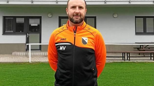 Vedoucí mládeže Martin Vlček má velkou zásluhu na tom, jak dobře se fotbalová mládež ve Velkém Poříčí prezentuje.
