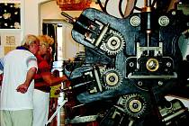 Návštěvníci Textilního muzea.