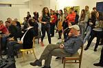 Deset Deka festival pobavil i v galerii výtvarného umění.