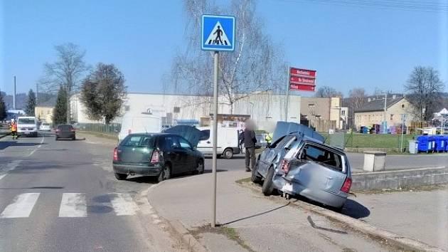 Nehoda ve Velké Poříčí