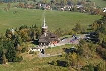 Jiráskova chata na Dobrošově.