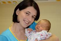 DENIS HITSCHFEL se narodil 27. prosince 2011 v 9:51 hodin s váhou 3105 gramů a délkou 48 centimetrů. S rodiči Lenkou a Radkem má domov v Teplicích nad Metují.