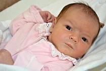 ALŽBĚTA STŘÍHAVKOVÁ se narodila 30. září 2014 v 01.37 hodin s váhou 3910 gramů a délkou 50 centimetrů. S rodiči Petrou a Josefem a s pětiletou sestřičkou Aničkou mají domov ve Velké Bukovině.