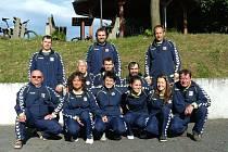 Na Evropském poháru klubů bude reprezentovat Českou republiku Pétanque klub Stolín. Na snímku kompletní tým dvanácti hráčů.