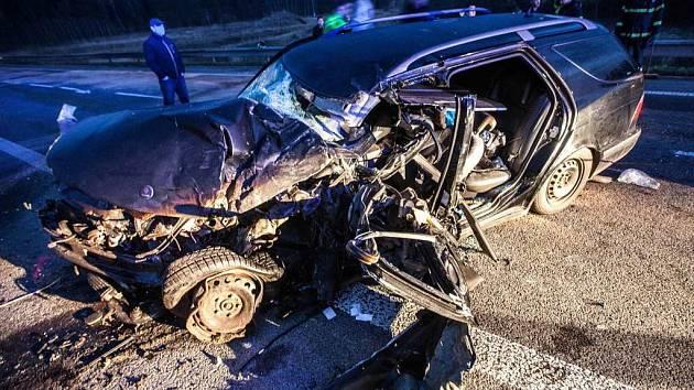 Tragicky skončila dopravní nehoda, ke které došlo v pátek 27. března na hlavním tahu u České Skalice.
