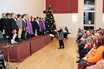 Vánoční koncert v Obecním domě ve Velkém Poříčí.