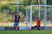 Veterán v náchodské brance Petr Kobos si proti Ústí nad Orlicí zachytal jen poločas, během něhož musel řešit několik ošemetných situací.