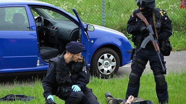 Den s policií v Náchodě