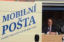 V úterý 22. září představila Česká pošta na svém depu v Náchodě novinku – Mobilní poštu. Jde o novou formu poskytování poštovních služeb prostřednictvím vozidel ČP, které jsou upravené pro plnohodnotné fungování poštovní přepážky. Akce se konala za účasti