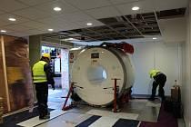 Oblastní nemocnice Náchod se dočkala magnetické rezonance.
