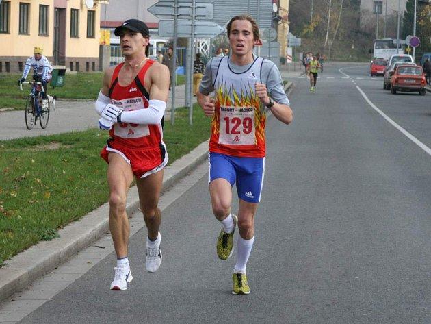 Ze silničního běhu Náchod - Hronov.