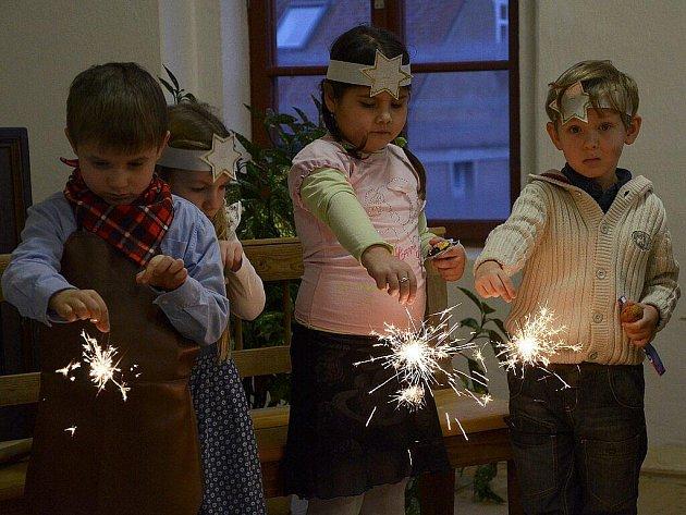 """Vánoční pásmo """"Těšení""""."""