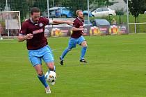 SPLNÍ NORMU? Průměr dva góly na zápas má zatím náchodský útočník Martin Malý.
