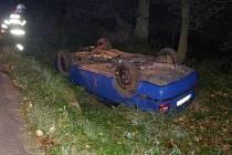 Nehoda v Otovicích na Broumovsku.