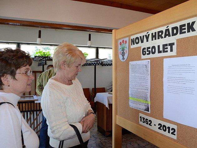 Městys Nový Hrádek oslavil 650 let od první písemné zmínky.