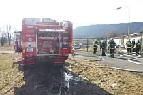 Požár klimatizační jednotky v objektu, který slouží pro skladové účely, v Křinicích na Broumovsku..