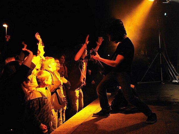 Koncert Imodia a UDG. Kapela Imodium pokřtila nové dvojalbum Polarity.