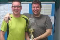 TENISOVÝ turnaj čtyřher si v teplickém Sportcentru podmanila dvojice Kubín – Průša.