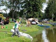 O uplynulém víkendu se na rybníku Brodský konal podzimní lov ryb dvoučlenných týmů na udici.