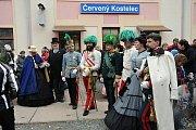 Císař František Josef I. navštívil Červený Kostelec.