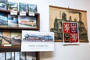 """Volby do Evropského parlamentu v železničním muzeu """"Výtopna"""" v Jaroměři."""
