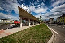 Nové autobusové nádraží v Jaroměři