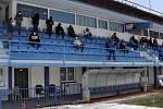 Okresní fotbalový svaz Náchod volil na tribuně stadionu FK Náchod.