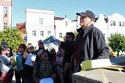 Historik architektury Petr Staněk a architekt Viktor Vlach se formou komentované procházky pokusi