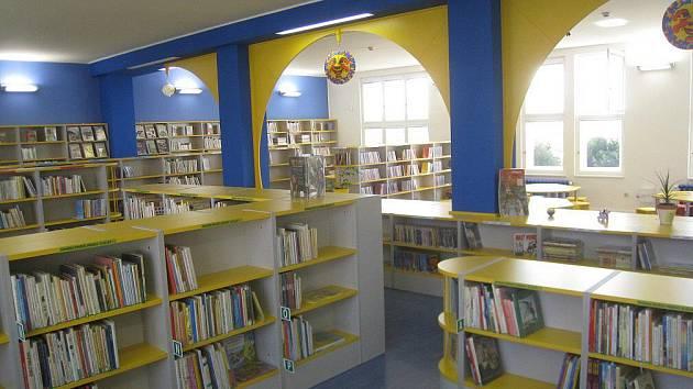 Nová novoměstská knihovna.
