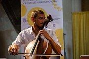 Sobota 25. srpna patřila souboru Prague Cello Quartet, který oslnil publikum v kostele sv. Jiří a