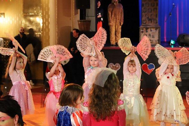 Déčko karneval v Beránku.