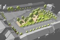 Vizualizace Husova náměstí.