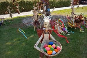 Rozdovádění velikonoční kozlíci budí zaslouženou pozornost.