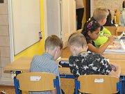 První školní den v jetřichovské malotřídce.