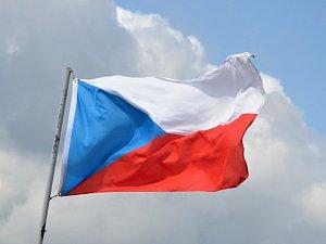 Vlajka České republiky. Ilustrační snímek.