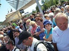 V Náchodě slavnostně uvedli do provozu nový autobusový terminál.