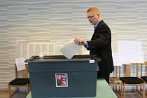 ŠÉF LIDOVCŮ Pavel Bělobrádek u evropských voleb.