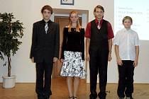 Nejlepší studenti Gymnázia Broumov.
