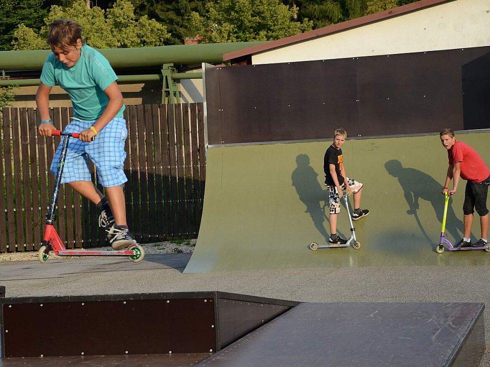 Skatepark v Náchodě