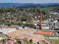 Sutiny zmizí. Město odkoupí pozemky v areálu bývalé Tepny.