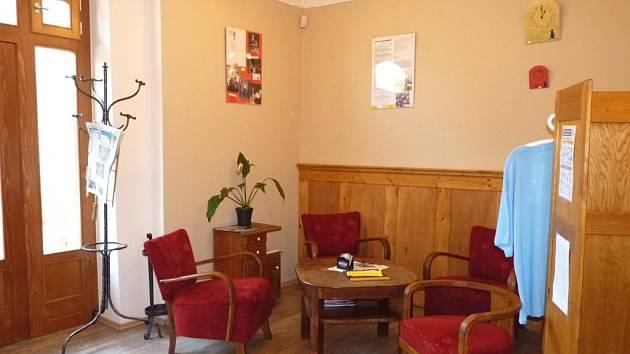 Kavárna Láry Fáry v Náchodě.