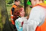 O ADRENALINOVÉ akce není na Rescue Campu nouze. Děti si ale poradí v každé situaci.