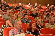 Diváci se v kině příjemně bavili.